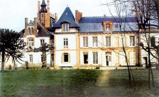 Le chateau de By à Thomery