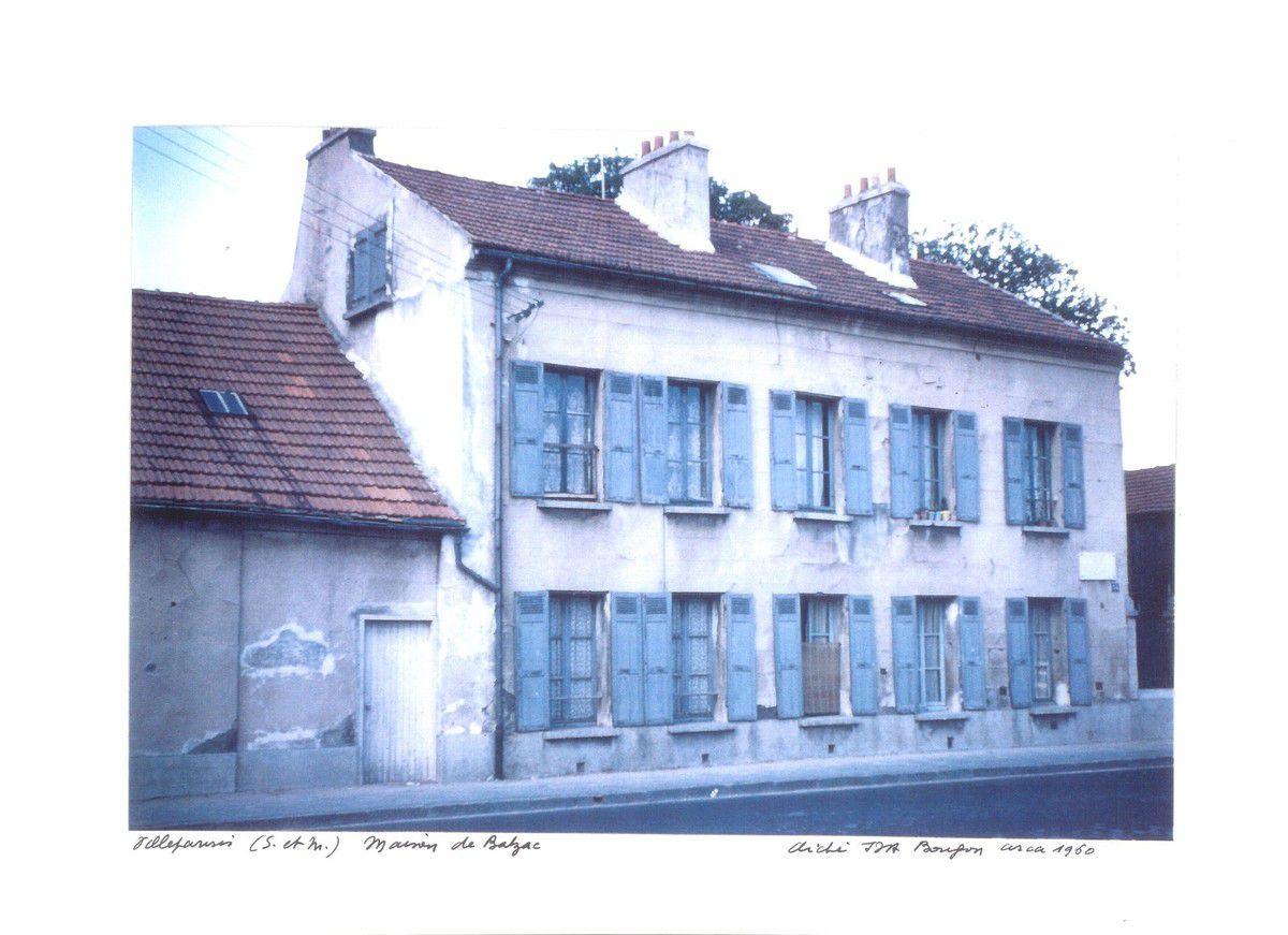 Maison des Balzac à Villeparisis