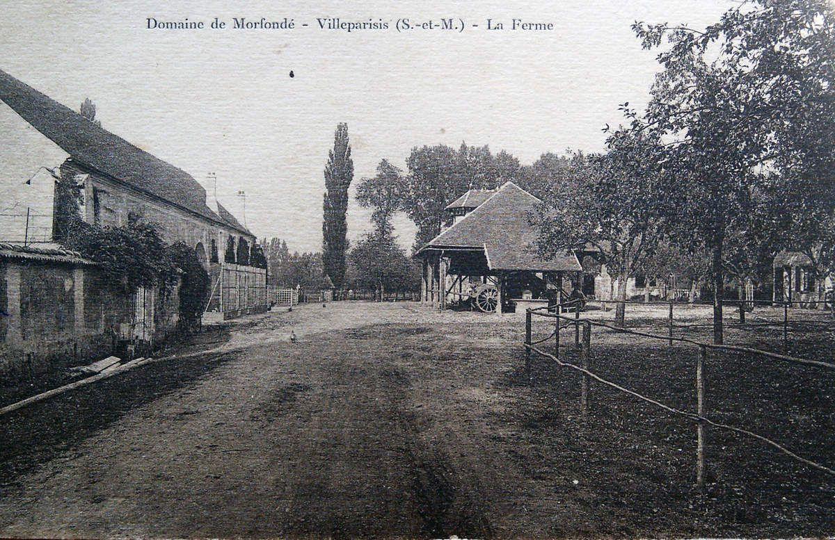 Histoire de Villeparisis: Domaine de Morfondé (1)