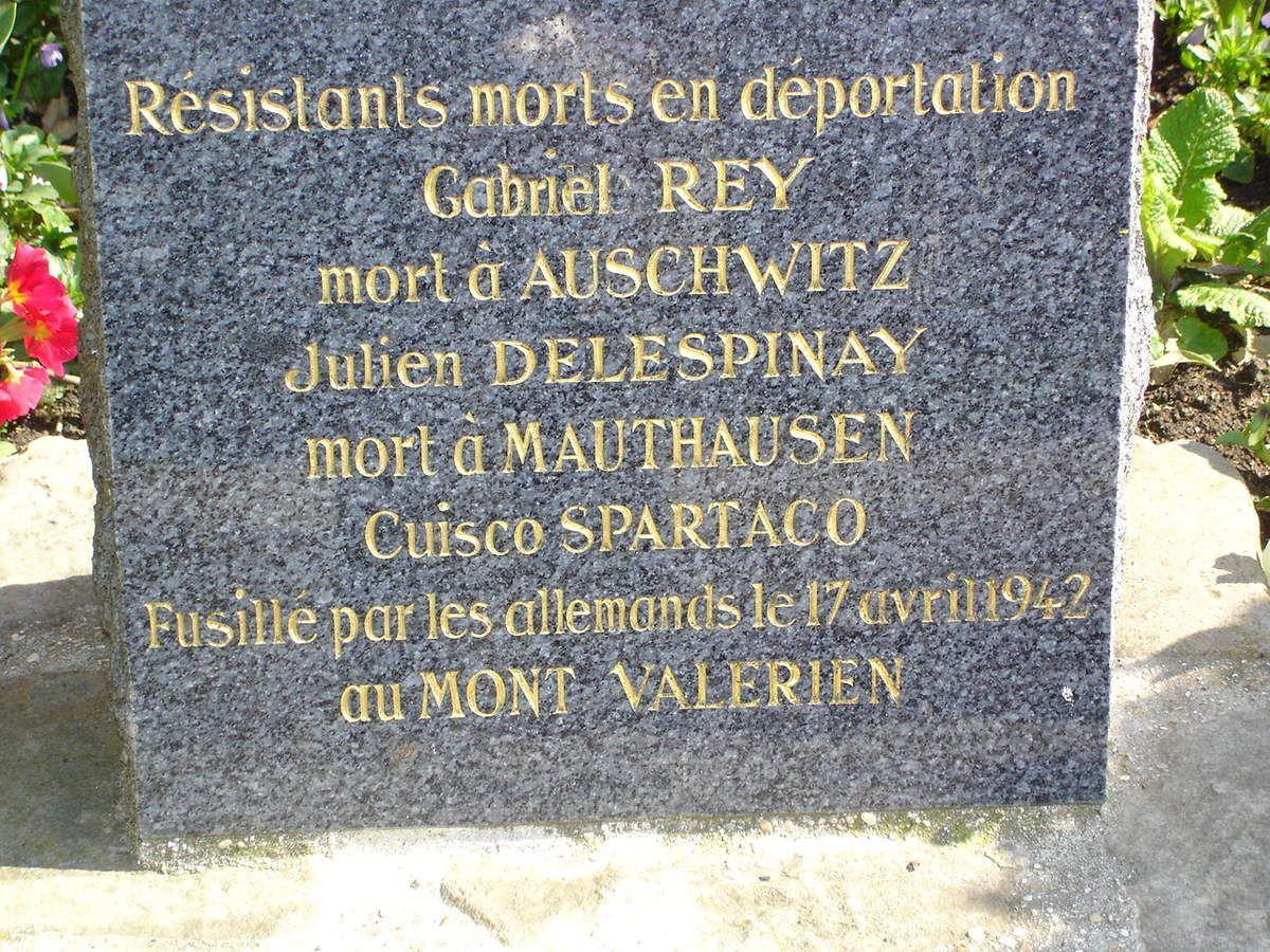 Histoire de Villeparisis: souvenir des déportés