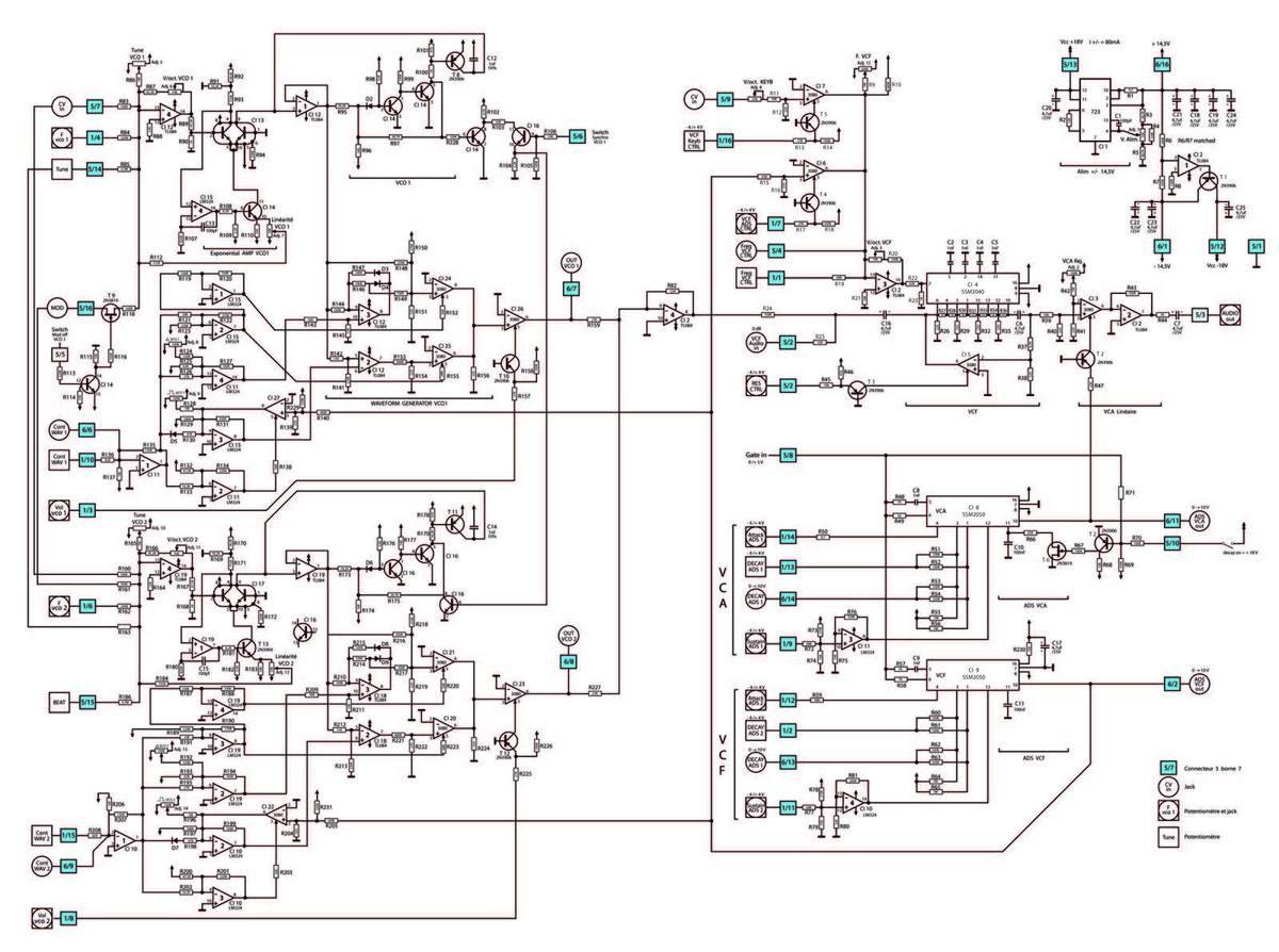 Etude des racks RSF - EXPANDER 1