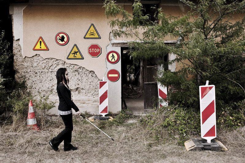 2011/10/09 Attention, danger pour les malvoyants (avec Kate Demise)