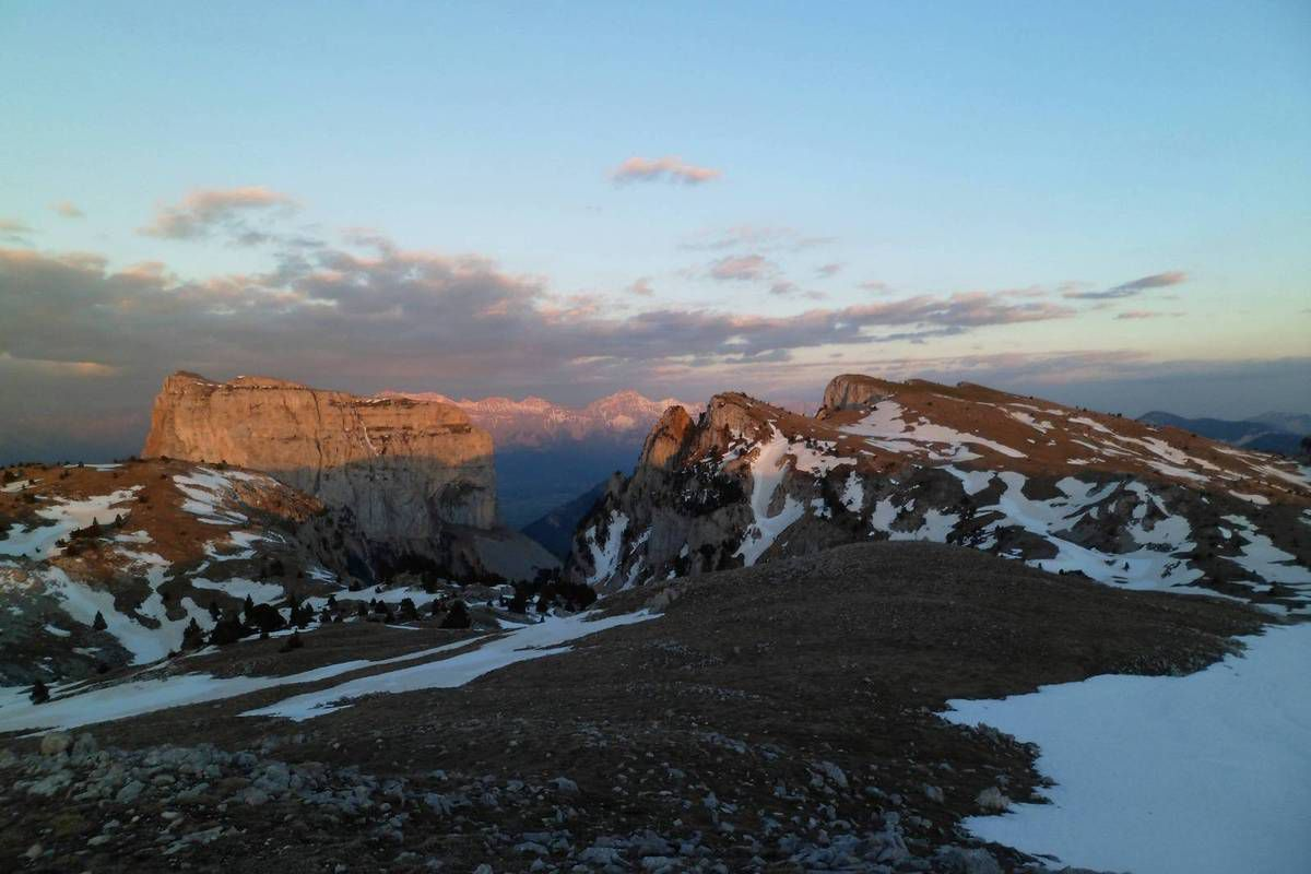 J1 Bivouac au sommet de Montaveilla