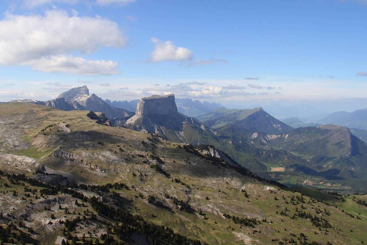 La Montagnette (1972m) par le Grand Pas