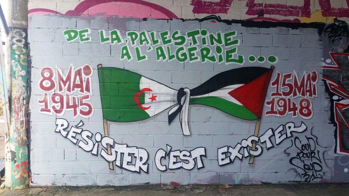Algérie 1945, Palestine 1948 - Une même logique ...