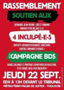 En septembre, la solidarité avec Georges Abdallah