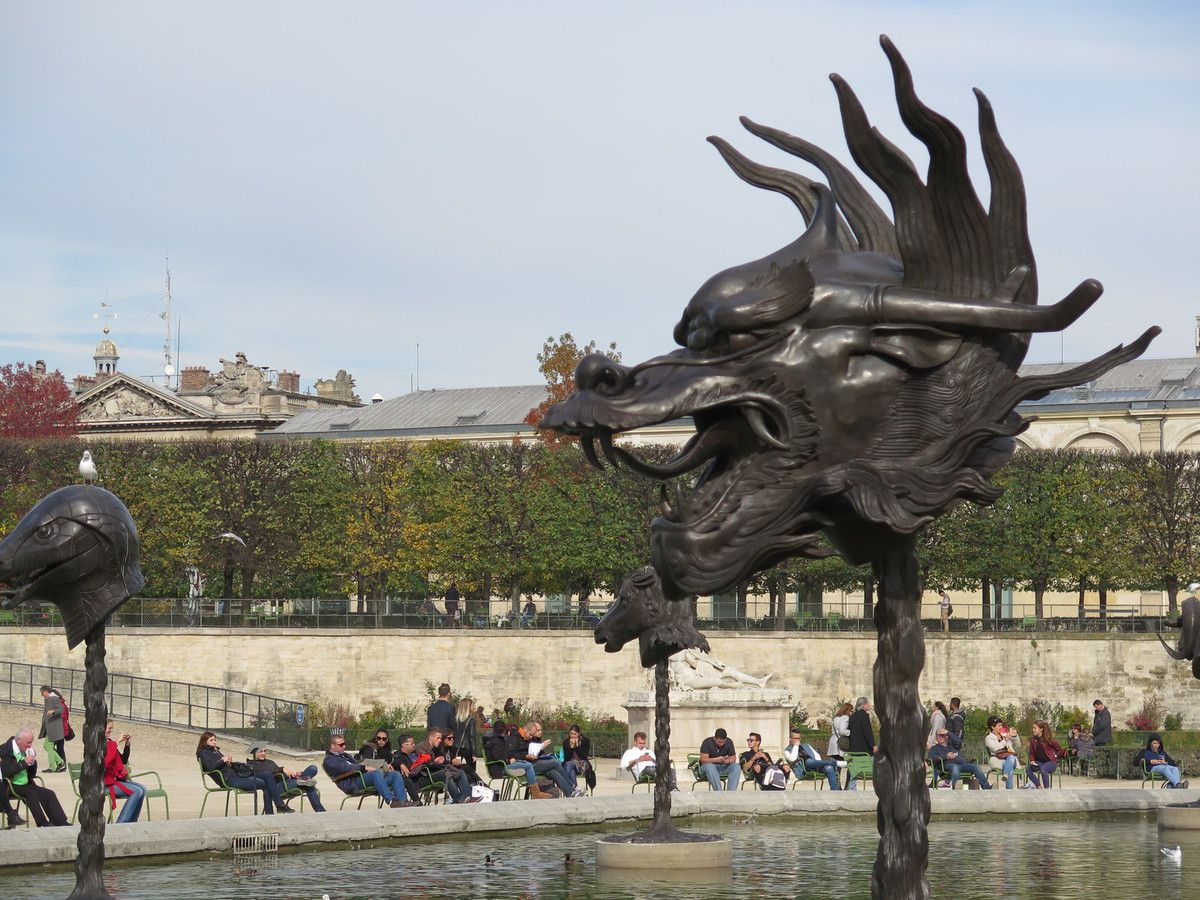 Ai Wei Wei aux Tuileries