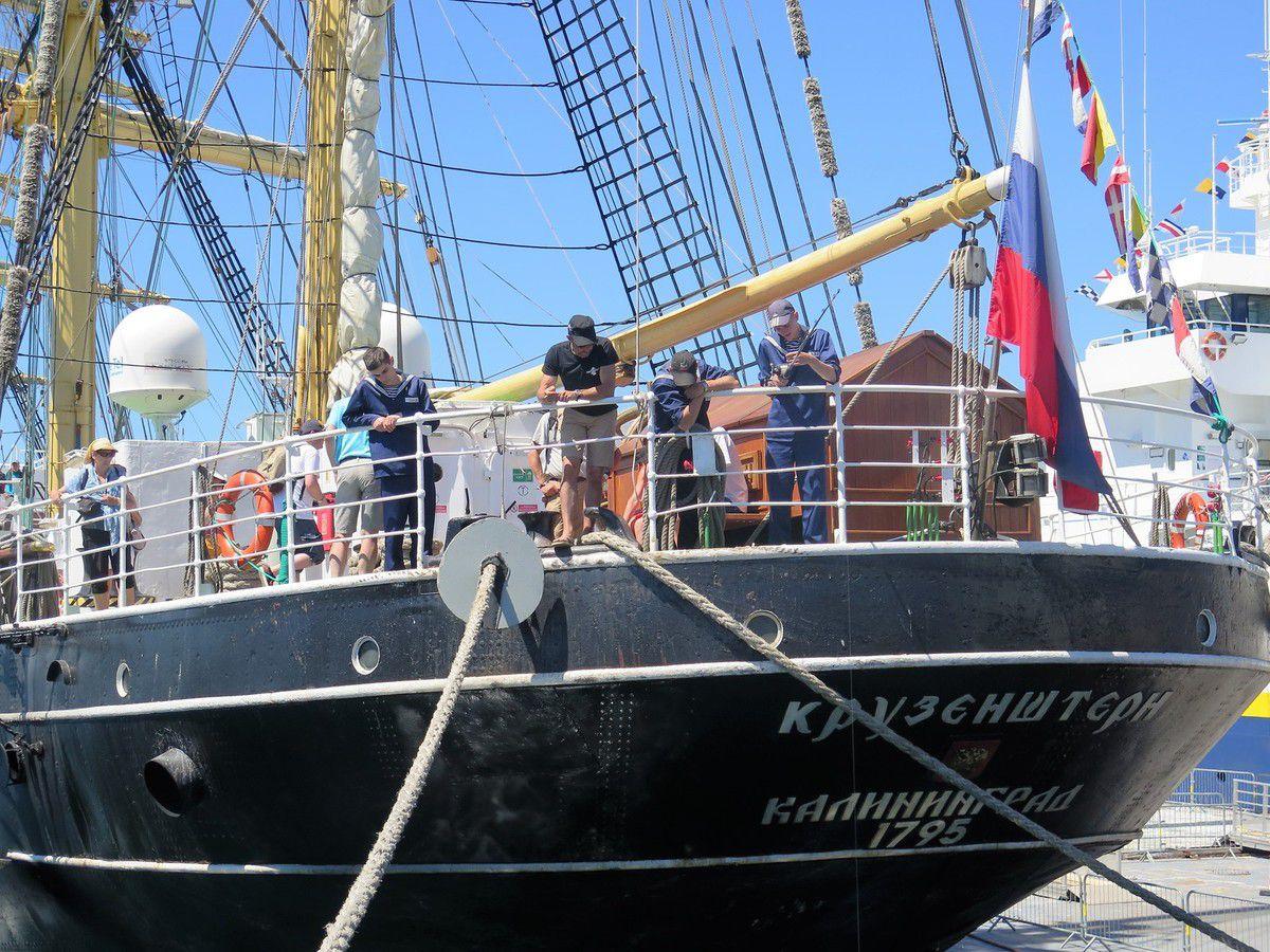 Fêtes maritimes de Brest (fin)