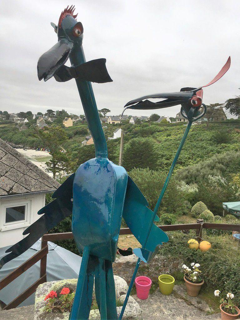 Les drôles d'oiseaux de Mich Mao à Saint-Pabu