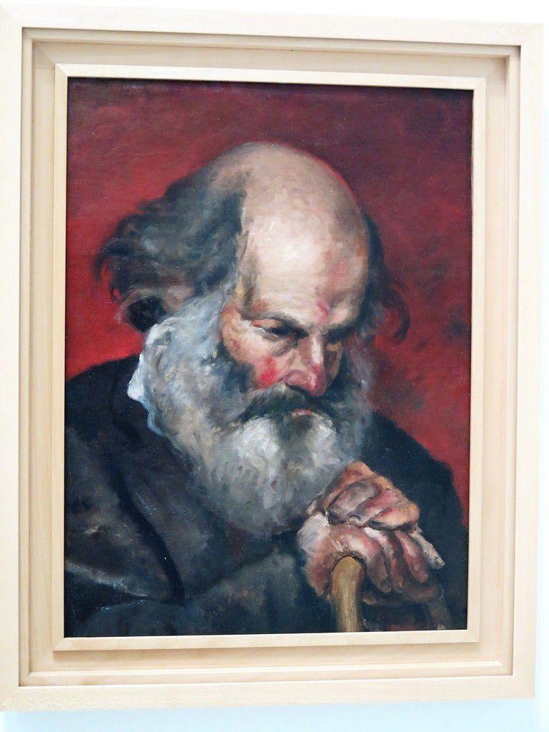 Portrait de vieilliard 1895