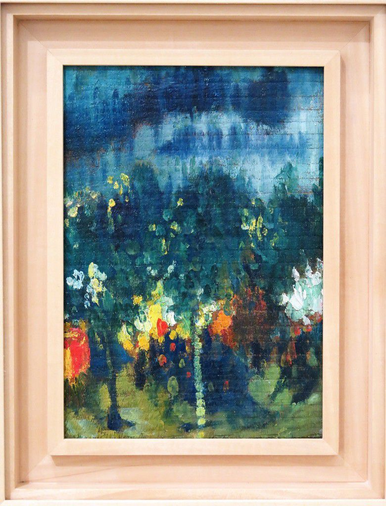 Sous les arbres la nuit 1901