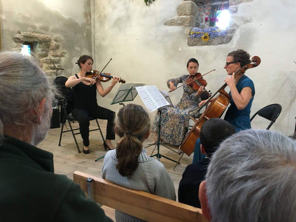 Musique à la chapelle Saint Ourzal