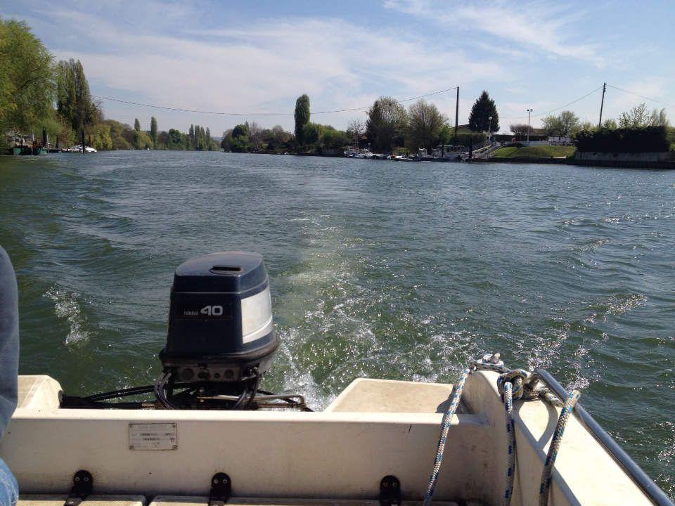 L'Île Verte, sur la Seine