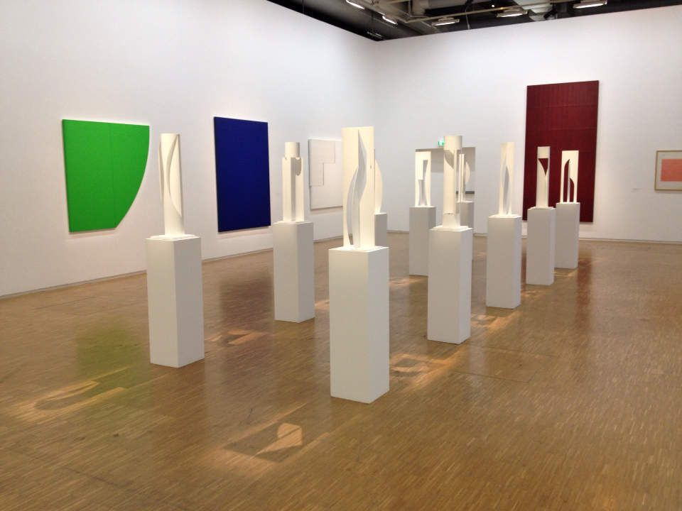 Gottfried Honegger au Centre Pompidou