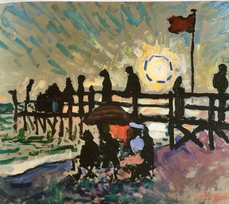 Albert Marquet peintre du temps suspendu