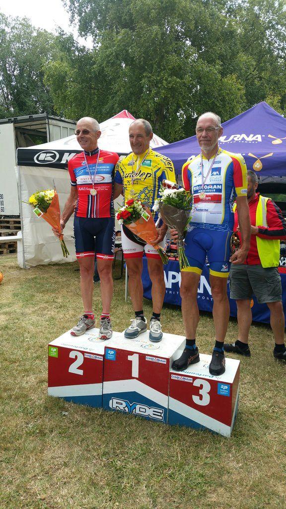 Marc médaille de bronze au Régional Cyclosport Ufolep à Hailles