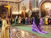 Discours de Sa Sainteté le Patriarche Cyrille sur le retour de la tige de l'Eparque Monseigneur Nestor, Evêque Kafskomu, vicaire du Diocèse de Chersonèse