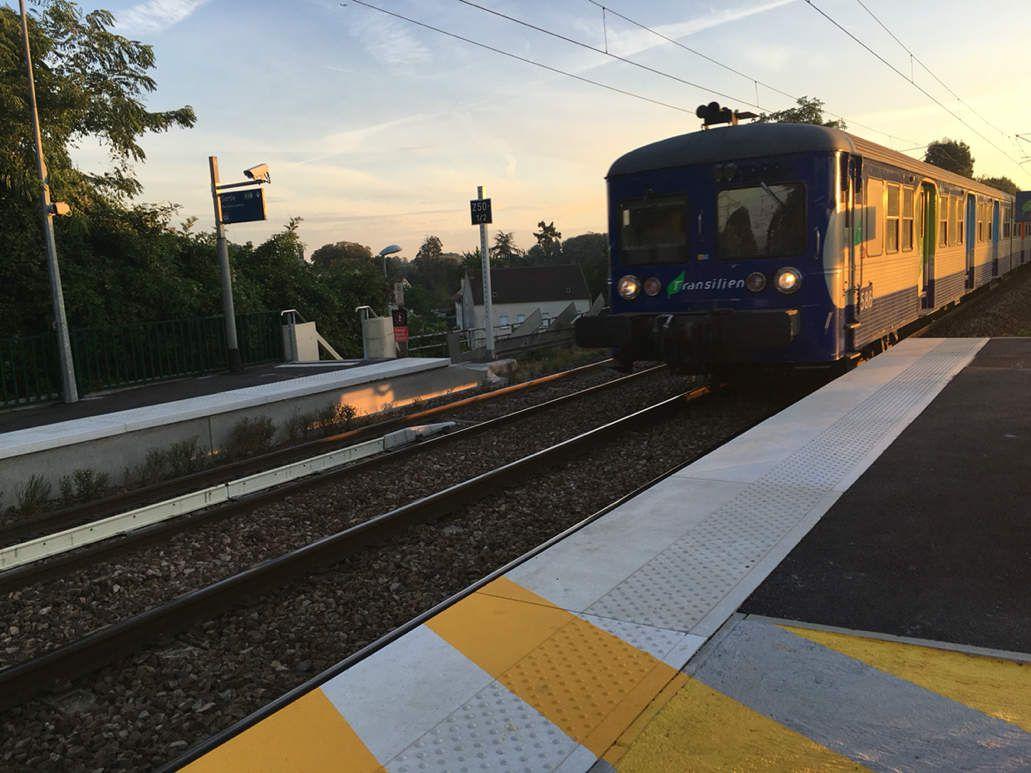 Ligne K : dernier matin avec le vieux copain .