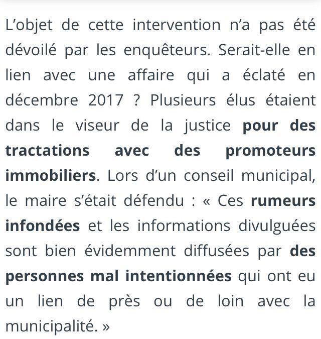 Perquisition mairie Dammartin