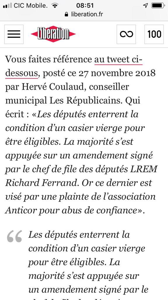 Scandale des casiers des élus..