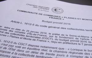 Chambre régionale des comptes et intercoco !!!!
