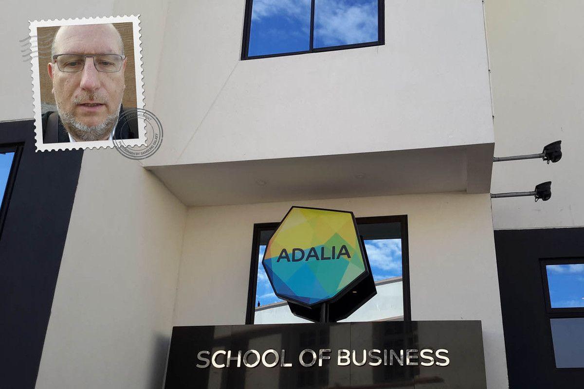 Entrée de ADALIA School of Business