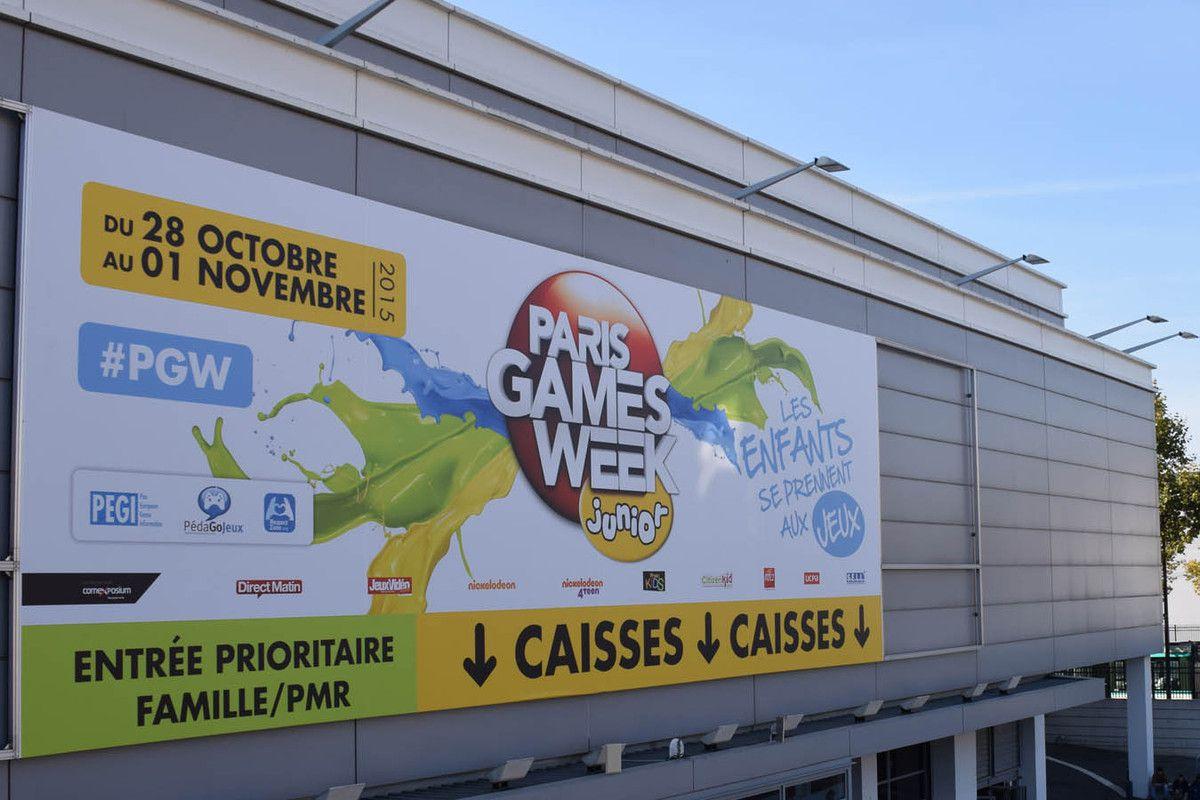 Une «Paris Games Week» Sauvage