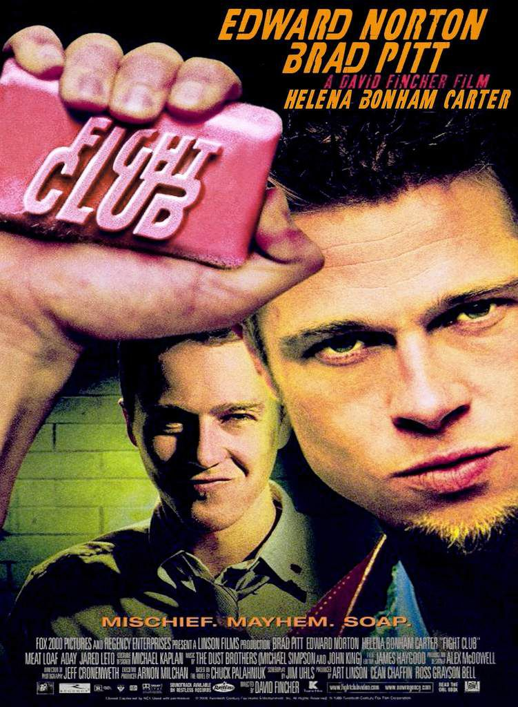 Affiche du film Fight Club - 1999