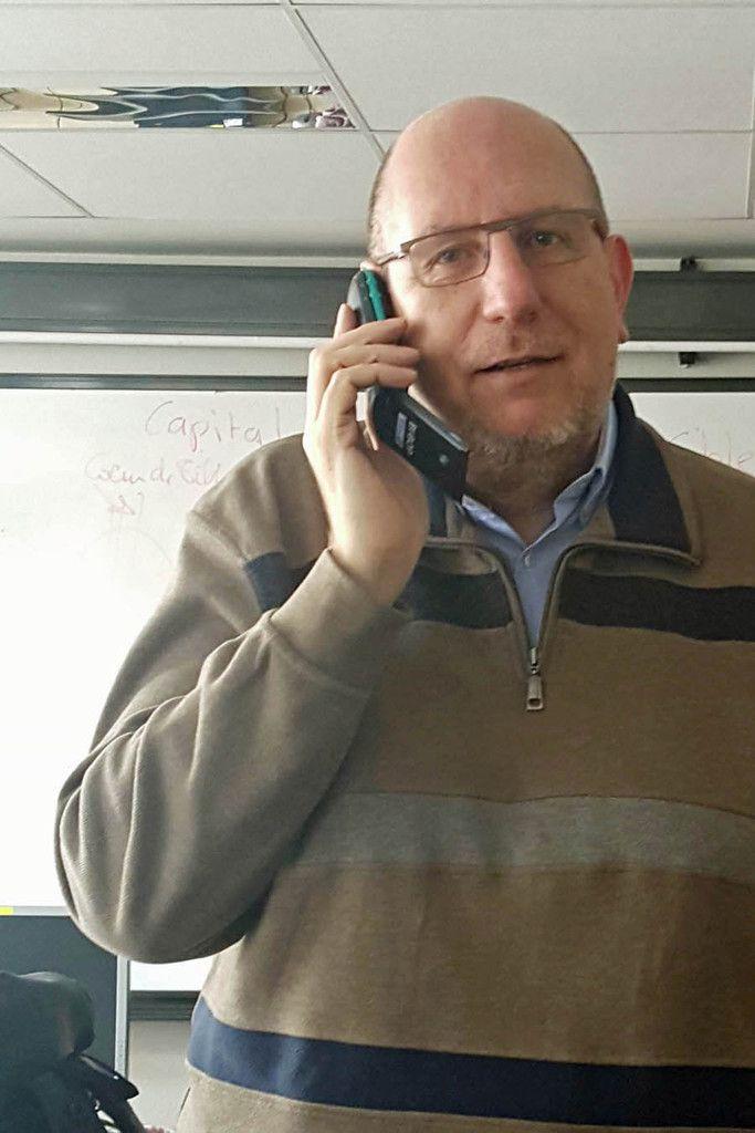 Appel muet avec mon Bi-Bop en classe de Sorbonne