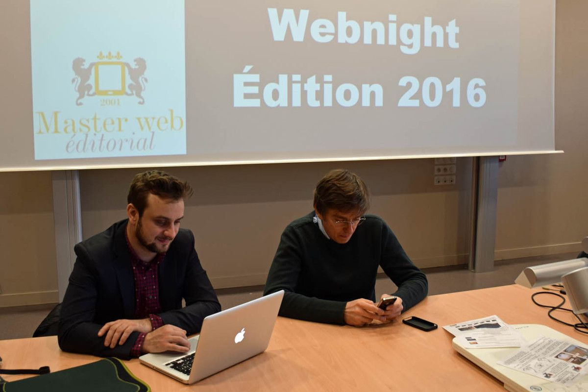 Choses vues durant la WebNight 2016