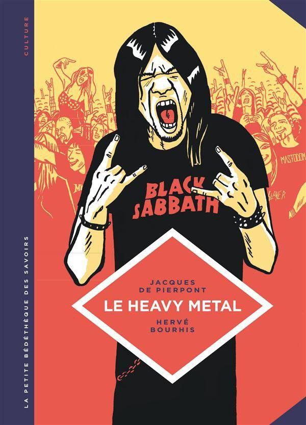 Jacques de Pierpont et Hervé Bourhis « Le heavy metal »