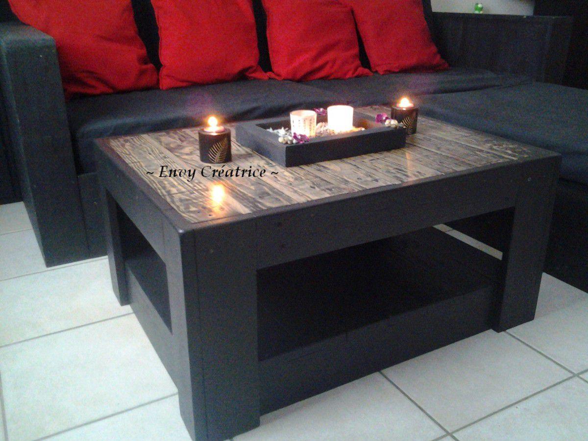 table basse palette bois tuto. Black Bedroom Furniture Sets. Home Design Ideas