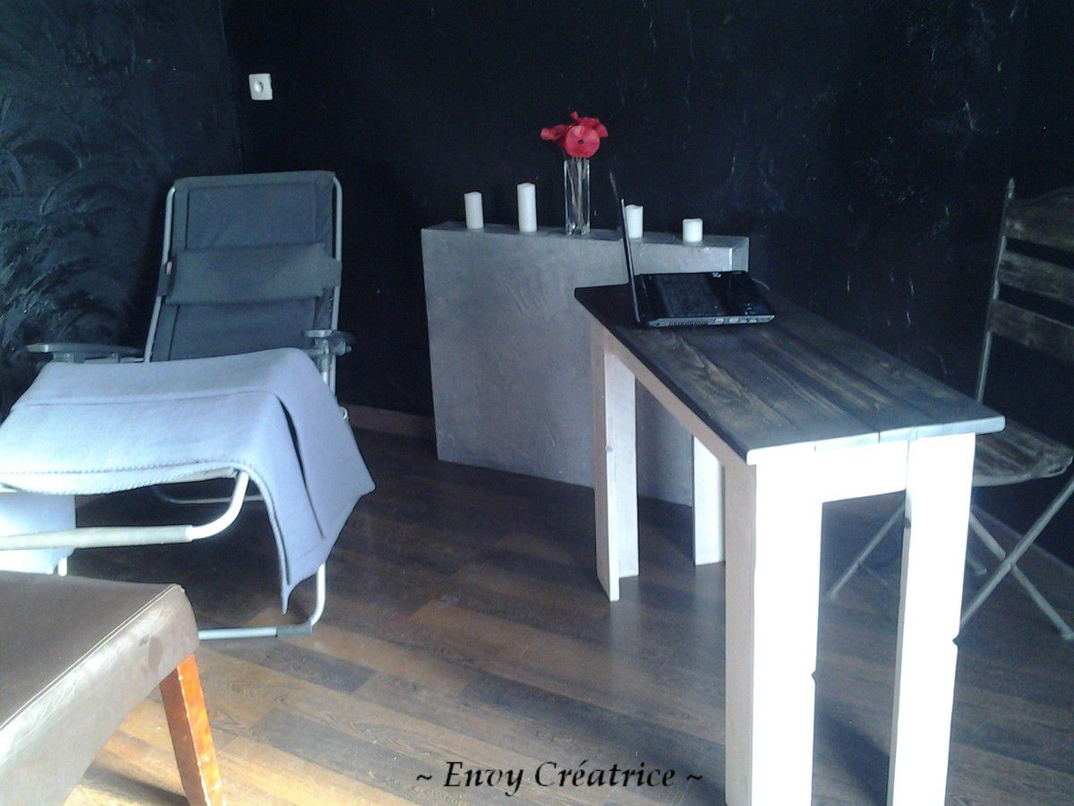 mon bureau pour mon local professionnel le blog de envy cr atrice. Black Bedroom Furniture Sets. Home Design Ideas