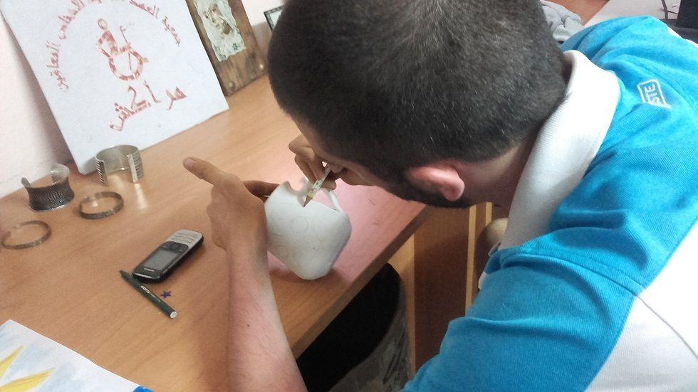 Hier après midi atelier d'artisanat