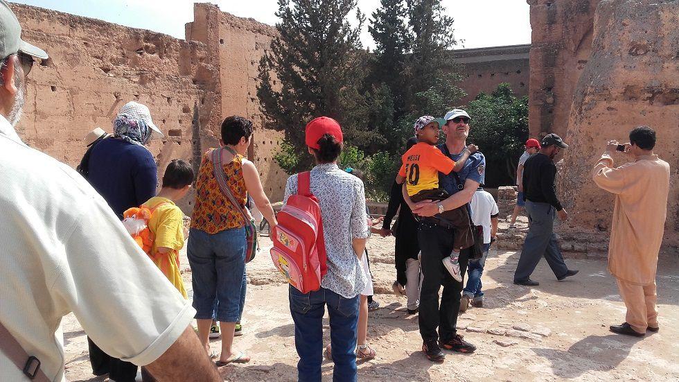 Palais Baddia pendant le festival Marrakech du rire