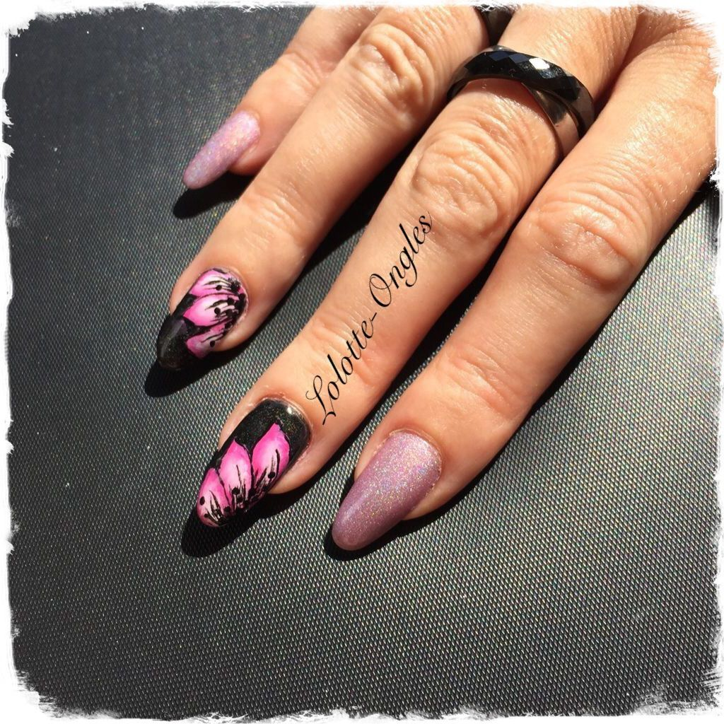 Accent nail One stroke