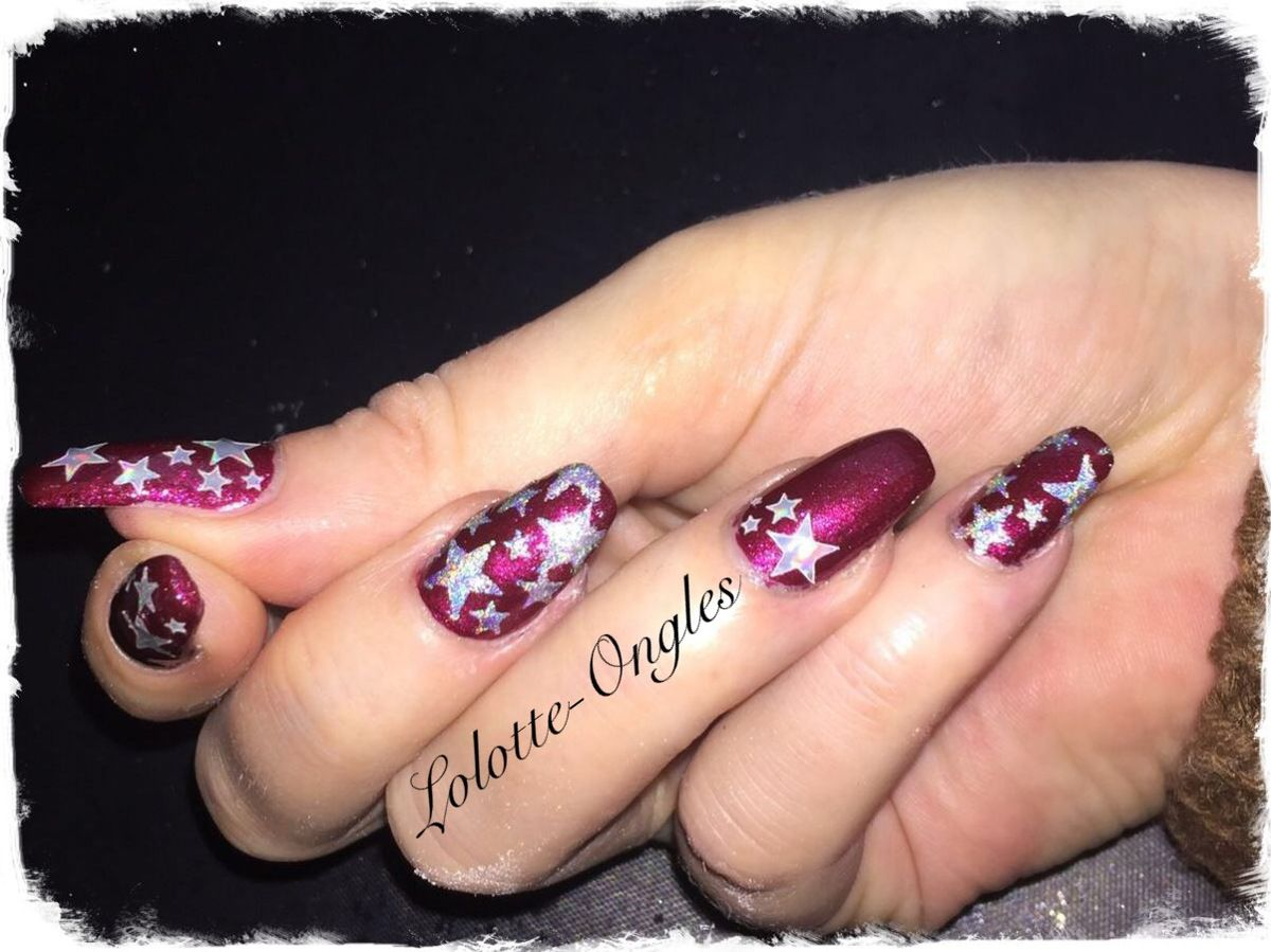 Nail art Etoilé
