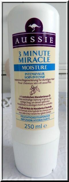 Mon avis sur la gamme Miracle Moist de la marque Aussie