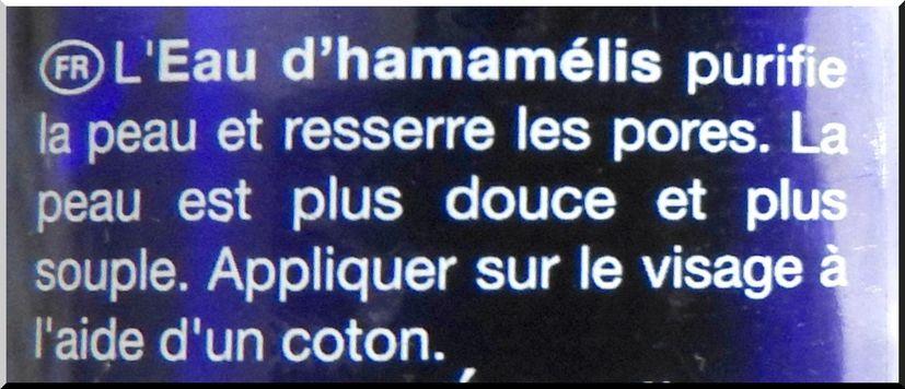 L'eau d'Hamamélis de la marque Laino
