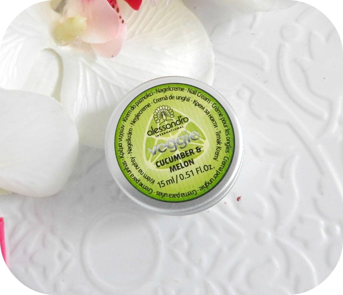 La Crème fortifiante pour les ongles Veggie Love de chez Alessandro