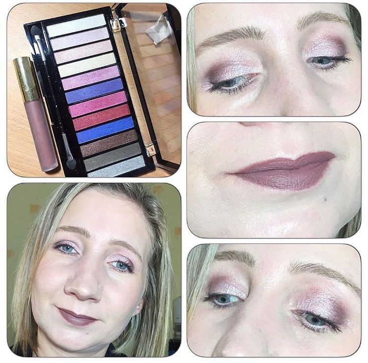 Revue et Swatchs palette Unicorns are Real de chez Makeup Revolution