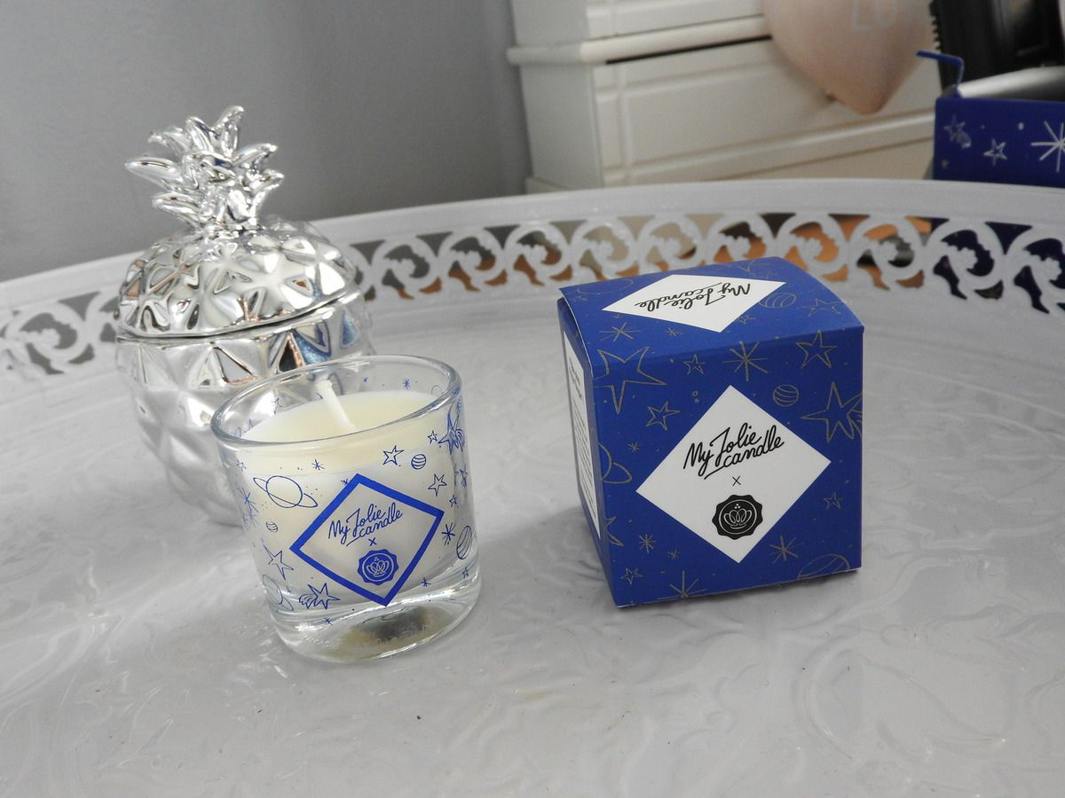 Bougie My Jolie Candle en collaboration avec Glossybox