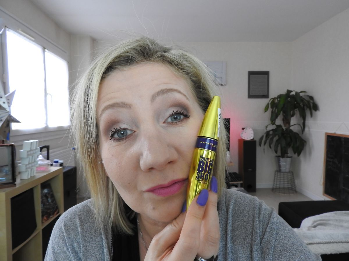 Le Mascara Maybelline Colossal  Big Shot