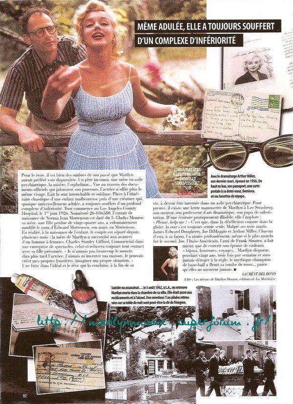 Marilyn secrète, la star racontée par ses objets intimes