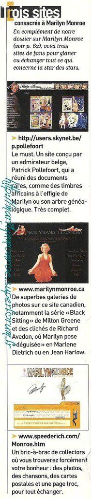La star des stars + les visages de Marilyn