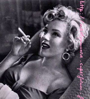 Album de photos : Marilyn star noir et blanc