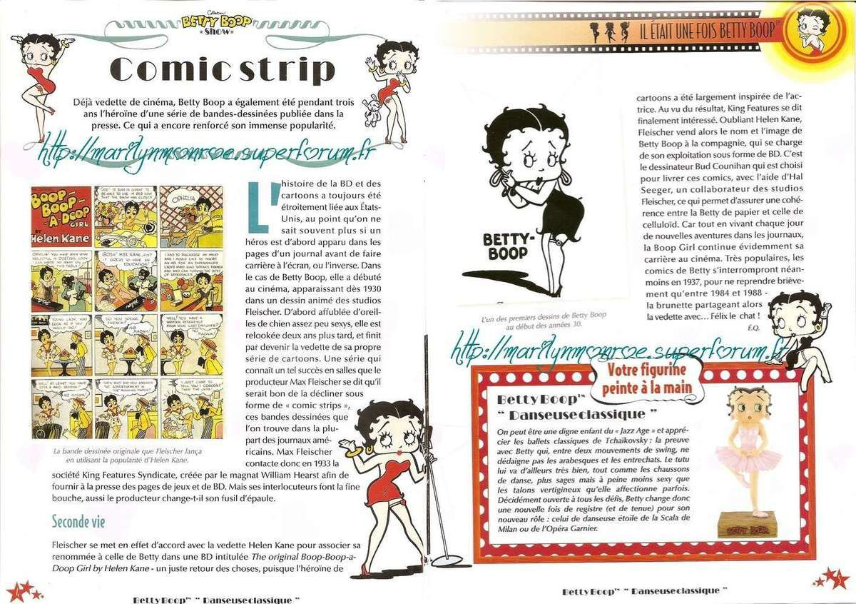 Betty Boop, l'autre pin-up : son univers