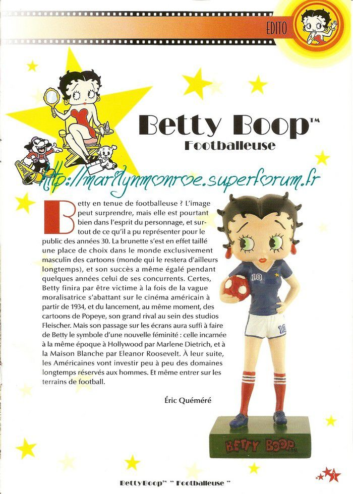 Betty Boop, l'autre pin-up : présentation