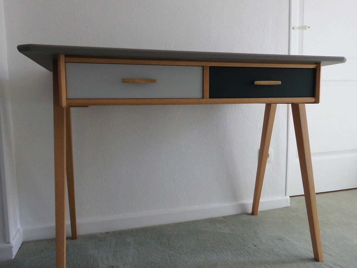 Bureau vintage scandinave relook 39 meubles 88 for Meuble bureau scandinave