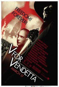 "Affiche du film ""V For Vendetta"
